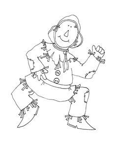 Free Dearie Dolls Digi Stamps: Scarecrow