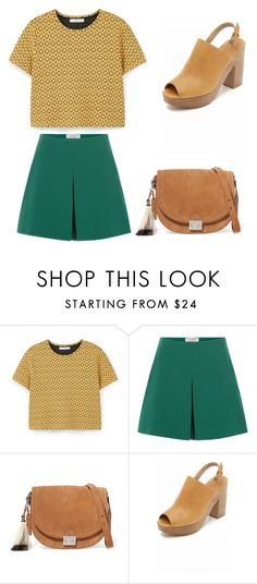 """""""Untitled #240"""" by ines-louu ❤ liked on Polyvore featuring MANGO, Valentino, Loeffler Randall and Rachel Comey"""