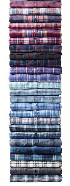 of flannel shirts.Stack of flannel shirts. Flannel Shirt Outfit, Flannel Outfits, Mens Flannel Shirt, Mens Casual Dress Outfits, Cowgirl Outfits, Casual Shirts, Cowgirl Clothing, Cowgirl Fashion, Mens Summer Tops
