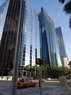 Brickell Buildings..Financial Center of Miami