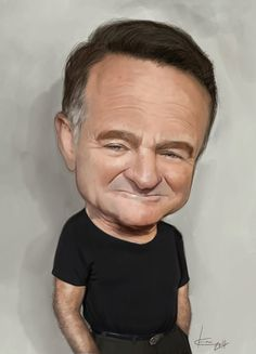 Robin Williams Caricature....By dunway.com