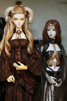 #dolls #bjd  Opal and Calandra  Soom MD Beryl and Cuprit - Resident of Old Magicians Abode