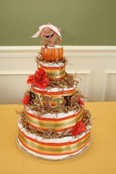 fall themed baby showers | Fall Themed Pumpkin Baby Shower - Party Like A Rock Star