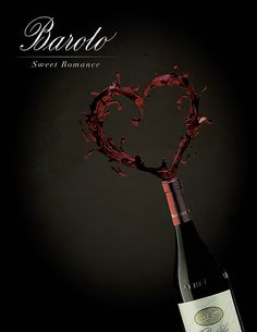 Barolo Wine Ad - design by Anita Bukhtia #wine #advertisement