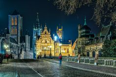 Throwback Thursday - Ghent at Night — Geoff Billing Photography.