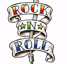 tattoo clip art clipart guitar flames rock and roll personal or rh pinterest com rock clip art for kids rock clip art for kids