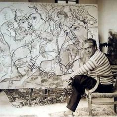 Picabia in his studio