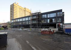 De bouw op 9 december