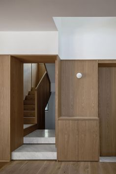 A short bridge has also been made to pierce through the light well at the first floor, connecting a previously walled off bedroom to main living areas.