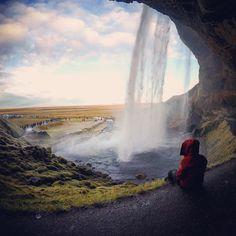 Magic behind the waterfall 💦