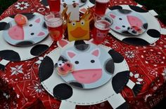 "adorable ""barnyard"" birthday party!"