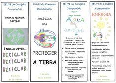 Corujinhas Ecológicos: Marcadores de Livros