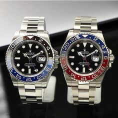 Brand names like Rolex and Cartier carry an air of authority that real… Amazing Watches, Beautiful Watches, Cool Watches, Rolex Watches, Rolex Gmt Master, Rolex Day Date, Luxury Watches For Men, Rolex Datejust, Shopping