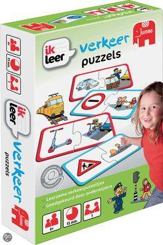 Jumbo Ik Leer Verkeer - Puzzel - 2 stukjes