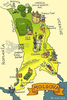 Postcard from Moldova Romania Map, Visit Romania, Romania Travel, Timisoara Romania, Republica Moldova, Transylvania Romania, Travel And Tourism, Travel Tips, Folklore