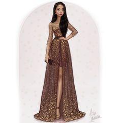 Commission by MidaIllustrations on DeviantArt Disney Princess Fashion, Disney Princess Drawings, Disney Princess Art, Disney Princess Dresses, Disney Dresses, Disney Fan Art, Disney Style, Princess Pocahontas, Cute Disney