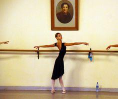 Olga Smirnova in the Vaganova Academy of Russian Ballet - epaulement
