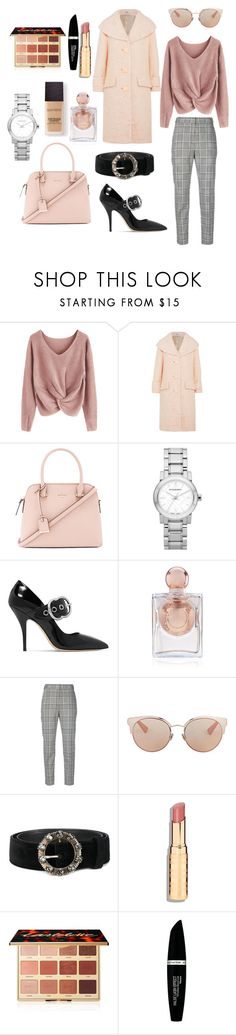 """Untitled #65"" by mihaelamihu ❤ liked on Polyvore featuring Miu Miu, Kate Spade, Burberry, La Perla, Alexander Wang, Christian Dior, tarte, Max Factor and Laura Mercier"