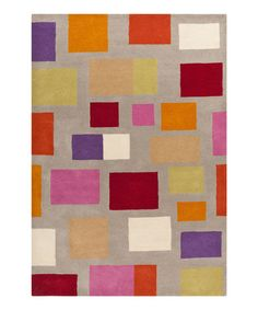 Look at this #zulilyfind! Bass Wool Rug #zulilyfinds