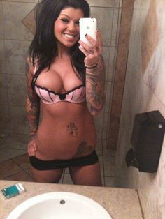 Tattooed Girl #tattoo #inked #girl #sexy