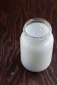 Easy homemade dairy-free milk made with shredded coconut.