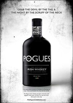 pogues whiskey. One of the basic food groups!   lolo