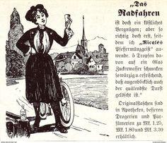 Original-Werbung/ Anzeige 1907 - RICQLÉ'S PFEFFERMÜNZGEIST - Ca. 90 X 75 Mm - Werbung