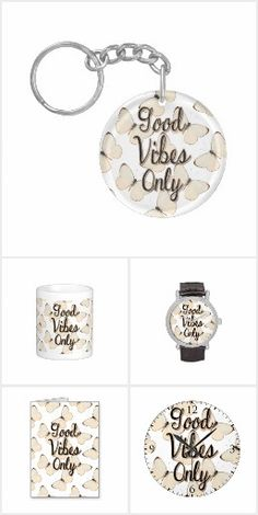 Good vibes only - a typography quote with beige butterflies Typography Quotes, Good Vibes Only, Butterflies, My Design, Place Card Holders, Beige, Personalized Items, Stuff To Buy, Collection
