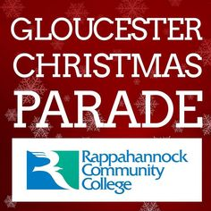 Come out and see the RCC team  and SQUALL  today at the Gloucester Citizens Christmas & Holiday Parade at 3 p.m. #gloucester #christmas #parade #gloucesterpoint #middlepeninsula #glenns #virginia #va #rappahannock #community #college #comm_college