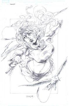 Supergirl Commission 2 by Stephen Jorge Segovia