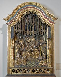 Shrine of Saint Anne and the Holy Kinship, late 15th century. South Netherlandish. The Metropolitan Museum of Art, New York. The Cloisters Collection, 1925 (25.120.210)