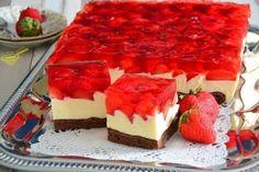 Erdbeerkuchen mit Mascarponecreme – Rezepte Strawberry cake with mascarpone cream – recipes