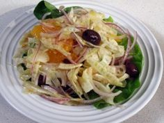 Cooking Channel serves up this Orange, Fennel, and Black Olive Salad recipe from Emeril Lagasse plus many other recipes at CookingChannelTV.com
