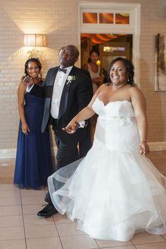 A Yellow Wedding with a Contemporary Flair in Atlanta