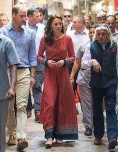 キャサリン妃がインド&ブータン訪問で披露したファッションのすべて|ハーパーズ バザー(Harper's BAZAAR)