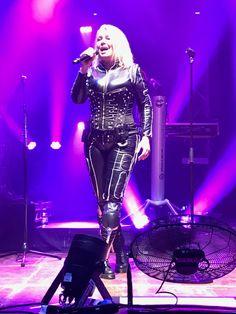 Kim Wilde, live in Bremen, 2018 Kim Wilde, Symphonic Metal, My Youth, Celebs, Celebrities, Skin Tight, Black Faux Leather, My Idol, Hot Girls