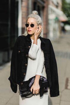 Ghost Town, white dress, Maxikleid, Sneaker, Chucks, H&M Trend, Levi's, Stella McCartney, Bandana, lotd, Look, Outfit, ootd, Style, Streetstyle, Hamburg, Fashion, Blog, stryleTZ