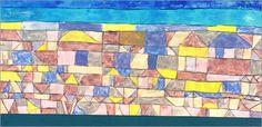 Paul Klee - Mediterranean Settlement