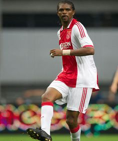 Nwankwo Kanu, Ajax Amsterdam A great Nigerian footballer that played for Ajax in the past and Arsenal.