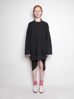 [MARTIN MARGIELA] OVERSIZED SWEAT TOP/DRESS - S/S ATELIER - Atelier