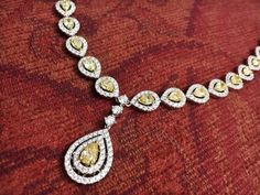 Fancy cut yellow diamonds from Jay Roberts Jewelers