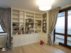My Dream Home, Home Projects, The Hamptons, Bookcase, Sweet Home, Shelves, Curtains, Living Room, Luxury