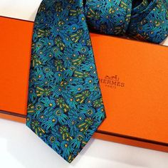 Hermes Silk Tie 7170 FA