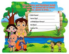 Free Download Chota Bheem And Krishna Coloring Pages Hd Wallpaper