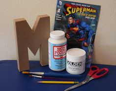 Imperfect & Fabulous: Comic Book Letters - DIY