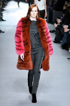 Trends: Fur, Tom Ford // Fall fashion 2014: 231 photos of the top 10 trends of the season http://www.fashionmagazine.com/fashion/2014/08/18/fall-fashion-2014-top-10-trends/