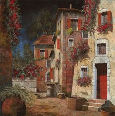 Dipinto di Guido Borelli