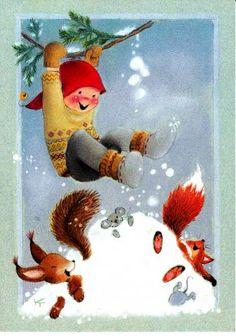 The 676 best finnish christmas cards images on pinterest in 2018 kaarina toivanen christmas card 10 x finland m4hsunfo