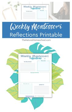 Weekly Montessori Reflections Printable In this post, I want to share with you an easy way to do weekly reflections with a complement to your Montessori curriculum (a PDF free download). #montessorilessonplans #montessoriathome #montessoriactivitiespdf #montessoricurriculumpdf Classical Education, Gifted Education, How To Start Homeschooling, Frugal Family, Montessori Activities, Homeschool Curriculum, School Classroom, Reflection, Printables