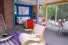 Colorful remodel